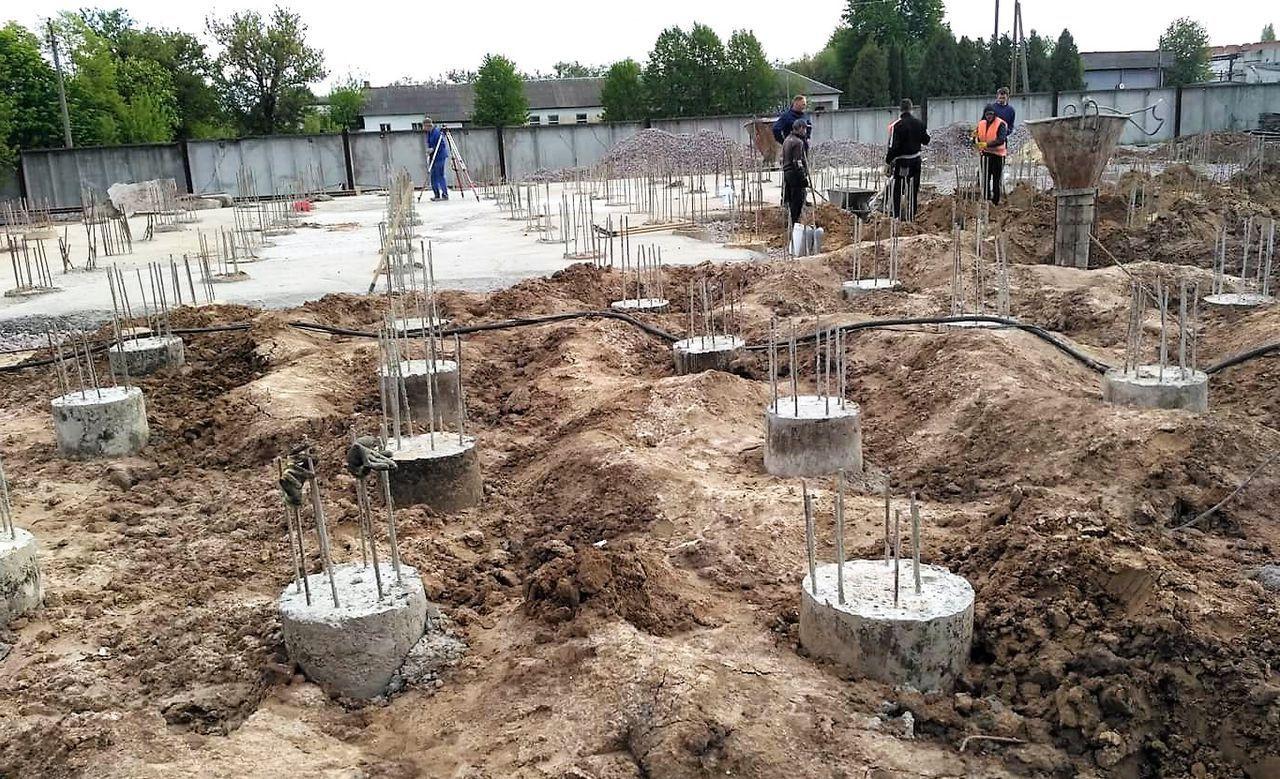 Буронабивные сваи бетон бетон магадан купить